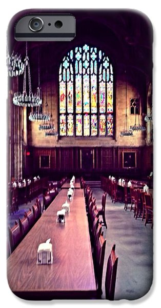 Interior Glass iPhone Cases - Procter Hall at Princeton University iPhone Case by Anna Porter