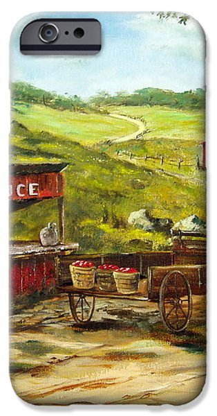 Produce Stand iPhone Case by Lee Piper