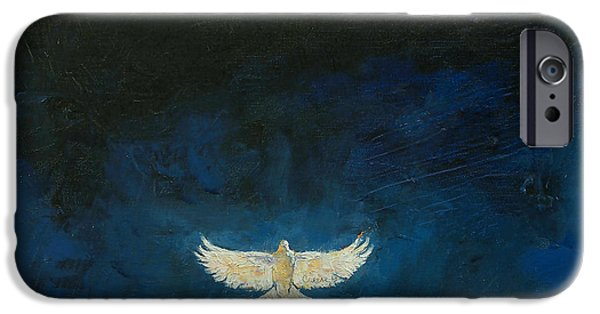 Dove iPhone Cases - Promised Land iPhone Case by Michael Creese