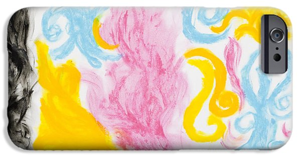 Colorful Abstract iPhone Cases - Promises of The Lord iPhone Case by Melissa Bitter