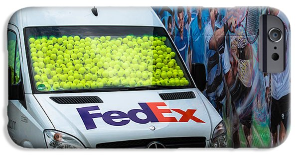 Atp World Tour iPhone Cases - Promotion during the ATP trophy in Stuttgart - Germany iPhone Case by Frank Gaertner
