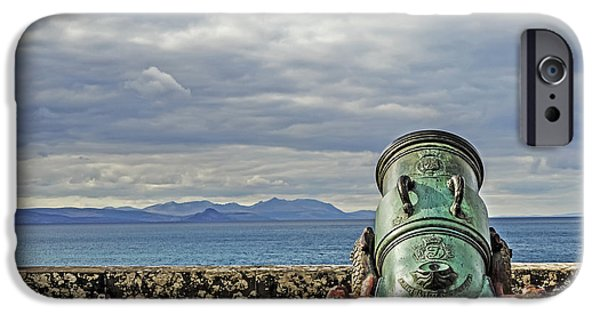 Weapon iPhone Cases - Protecting Firth of Clyde iPhone Case by Elvis Vaughn
