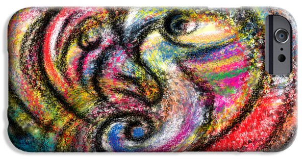 Concept Digital Art iPhone Cases - Protection iPhone Case by Alessandro Della Pietra