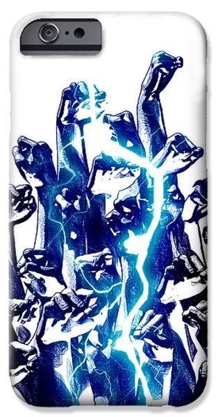 Protest the power iPhone Case by Frederico Borges
