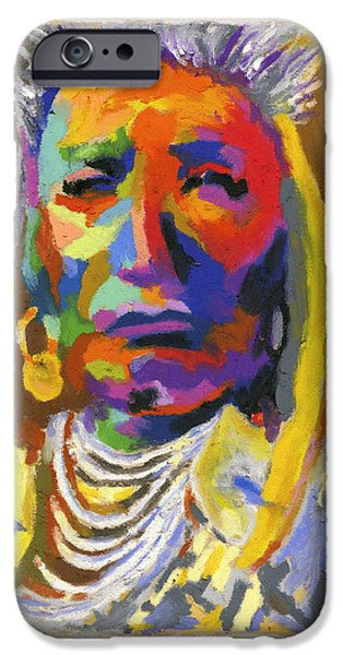 Proud Native American iPhone Case by Stephen Anderson