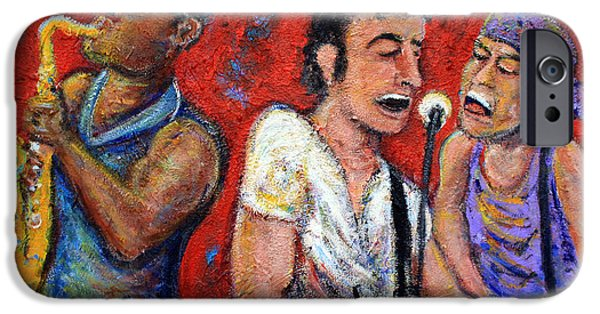New Jersey iPhone Cases - Prove It All Night Bruce Springsteen and The E Street Band iPhone Case by Jason Gluskin