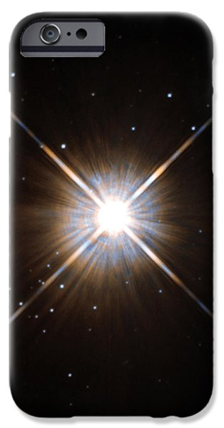 Proxima Centauri iPhone Case by Science Source