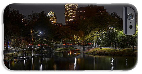 Oxford. Oxford Ma. Massachusetts iPhone Cases - Prudential over the Charles River iPhone Case by Toby McGuire