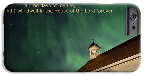Recently Sold -  - Concept Digital Art iPhone Cases - Psalm 23 iPhone Case by Mark Duffy