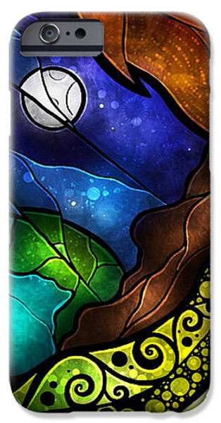 Psalm 91-4 iPhone Case by Mandie Manzano