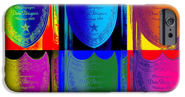 Napa Photographs iPhone Cases - Psychedelic Dom iPhone Case by Jon Neidert
