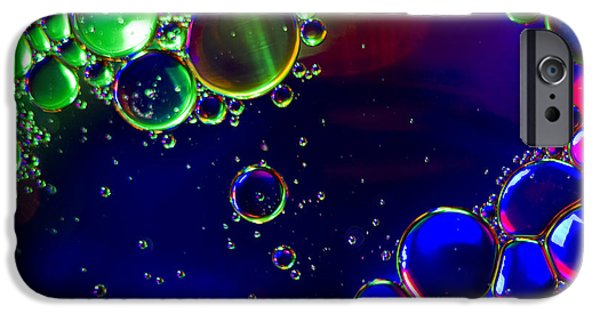 Psychedelic Photographs iPhone Cases - Psychedelic  iPhone Case by Kelly Howe