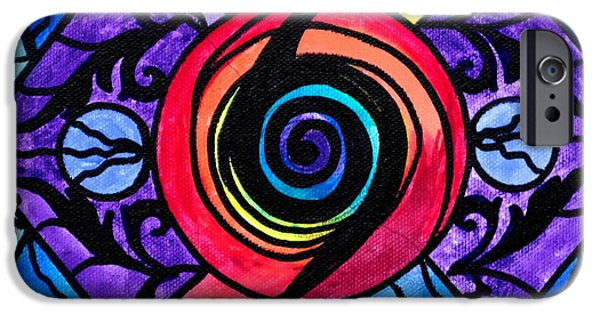 Aura iPhone Cases - Psychic iPhone Case by Teal Eye  Print Store
