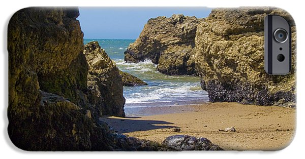 Beach Landscape iPhone Cases - Pt Reyes National Seashore iPhone Case by Bill Gallagher