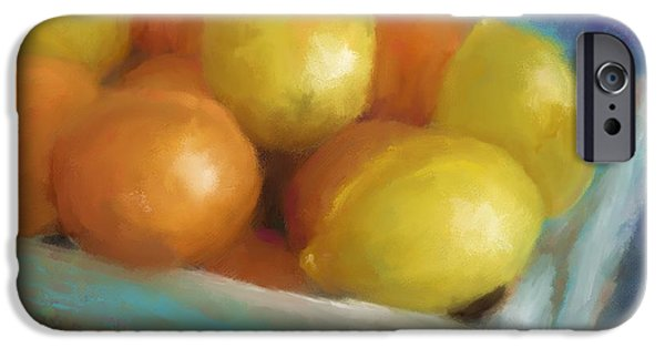 Lemon Drops iPhone Cases - Pucker Power iPhone Case by Colleen Taylor