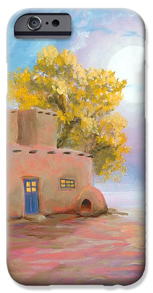Pueblo de las Lunas iPhone Case by Jerry McElroy