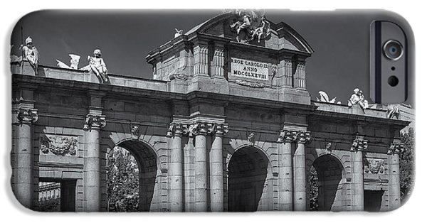 Independance Photographs iPhone Cases - Puerta De Alcala iPhone Case by Susan Candelario