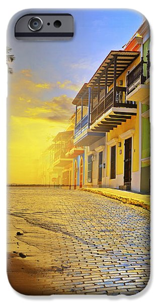 Puerto Rico Collage 2 iPhone Case by Stephen Anderson