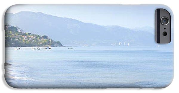Summer iPhone Cases - Puerto Vallarta beach in Mexico iPhone Case by Elena Elisseeva