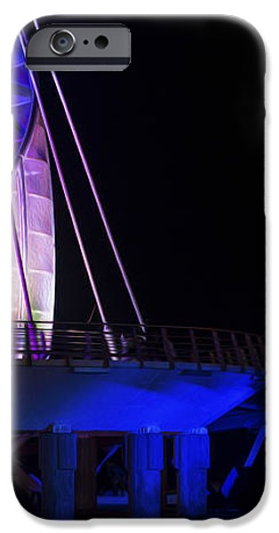 Puerto Vallarta Pier iPhone Case by Aged Pixel