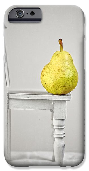 Pears iPhone Cases - Pull Up A Chair iPhone Case by Edward Fielding