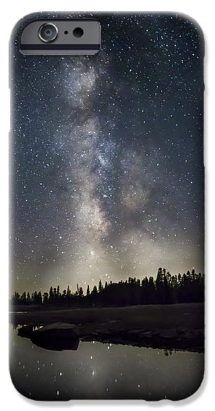 Meadow Photographs iPhone Cases - Pulse iPhone Case by Jeremy Jensen