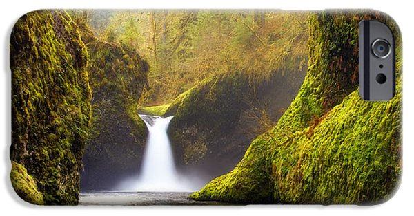 Lush iPhone Cases - Punchbowl Pano iPhone Case by Darren  White