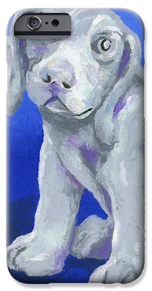 Cute Puppy iPhone Cases - Puppy Love iPhone Case by Stephen Anderson