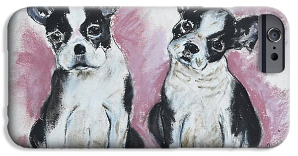 Puppies Pastels iPhone Cases - Puppy Puppy iPhone Case by Cori Solomon