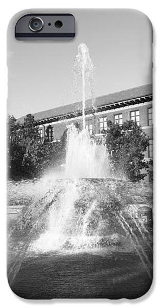 Purdue University Loeb Fountain iPhone Case by University Icons