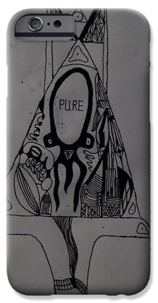 Dali Inspired iPhone Cases - Pure iPhone Case by Jake Blythe