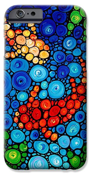 Ponds iPhone Cases - Pure Koi Joi iPhone Case by Sharon Cummings