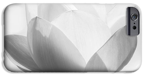 Yin iPhone Cases - Pure iPhone Case by Photodream Art