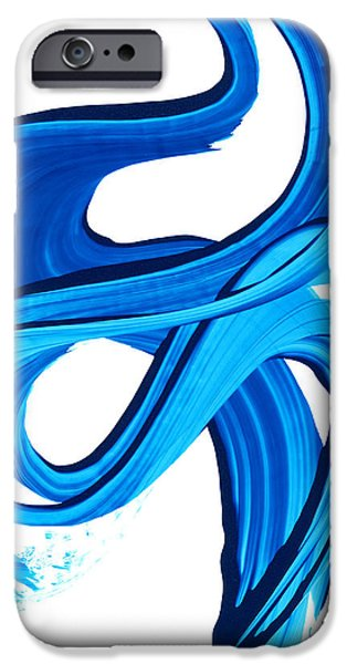 Water Flowing iPhone Cases - Pure Water 270 iPhone Case by Sharon Cummings