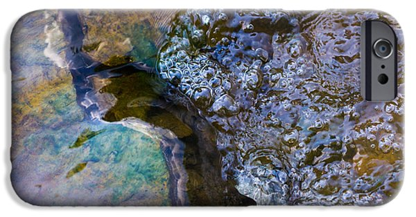Effervescence iPhone Cases - Purl Of A Brook 1 - Featured 3 iPhone Case by Alexander Senin