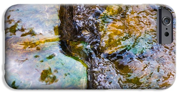 Effervescence iPhone Cases - Purl Of A Brook 2 - Featured 3 iPhone Case by Alexander Senin