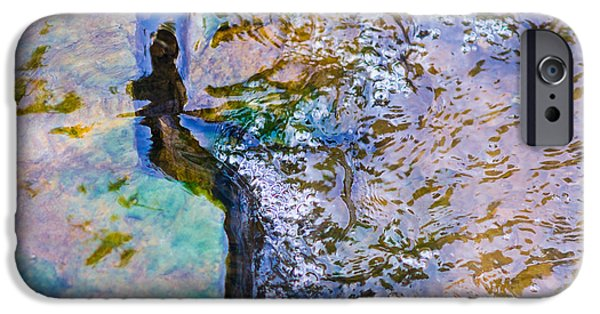 Effervescence iPhone Cases - Purl Of A Brook 3 - Featured 3 iPhone Case by Alexander Senin