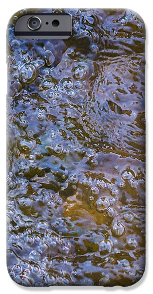 Effervescence iPhone Cases - Purl Of A Brook iPhone Case by Alexander Senin
