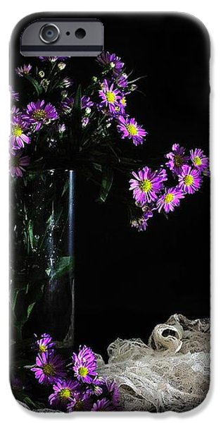 Purple and Lace iPhone Case by Diana Angstadt