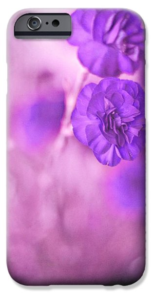 Purple Flowers iPhone Case by Marisa Horn