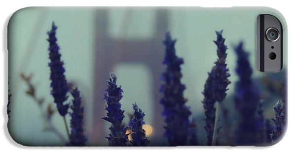 San Francisco iPhone Cases - Purple Haze Daze iPhone Case by Jennifer Ramirez