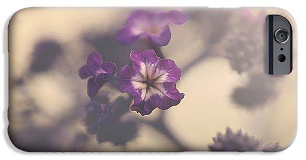 Faith Simbeck iPhone Cases - Purple Haze iPhone Case by Faith Simbeck