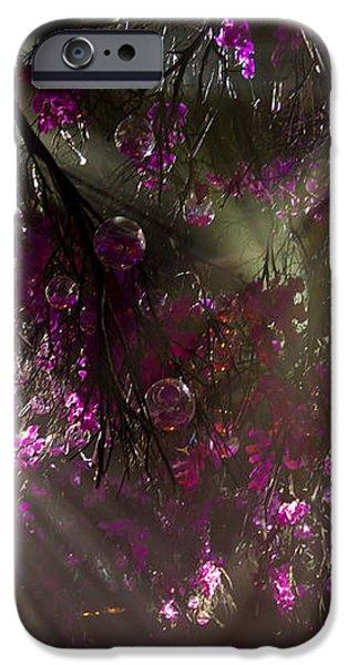 Purple Magic iPhone Case by Nadya Ost