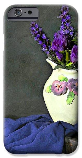 Purple Pardon iPhone Case by Diana Angstadt