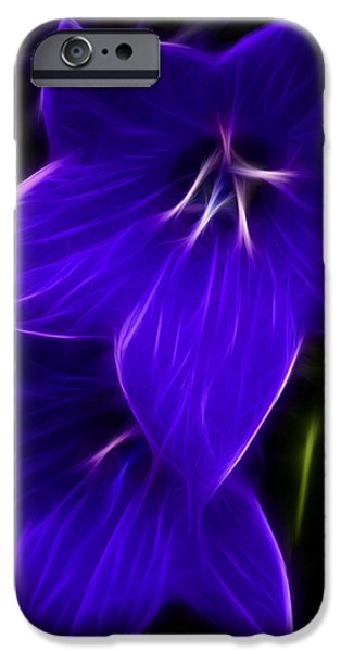 Purple Passion iPhone Case by Joann Copeland-Paul