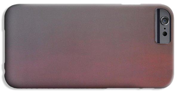 Alizarin Crimson iPhone Cases - Purple Skies iPhone Case by Jim Ellis