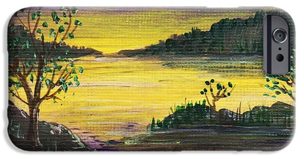Recently Sold -  - Rural iPhone Cases - Purple Sunset iPhone Case by Anastasiya Malakhova