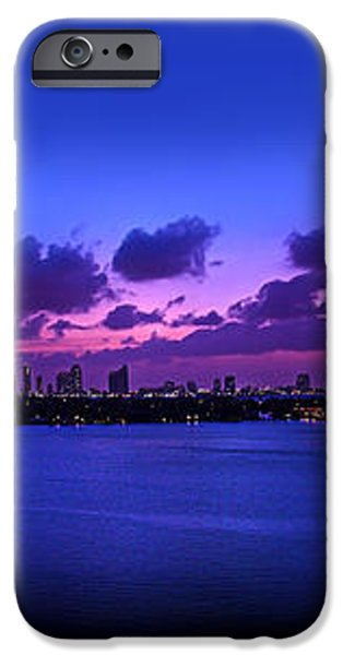 Purple Sunset iPhone Case by Michael Guirguis
