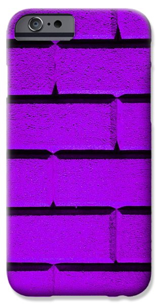 Purple Wall iPhone Case by Semmick Photo