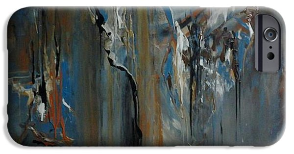 Destiny Paintings iPhone Cases - Pursuing Destiny iPhone Case by Kelly Turner